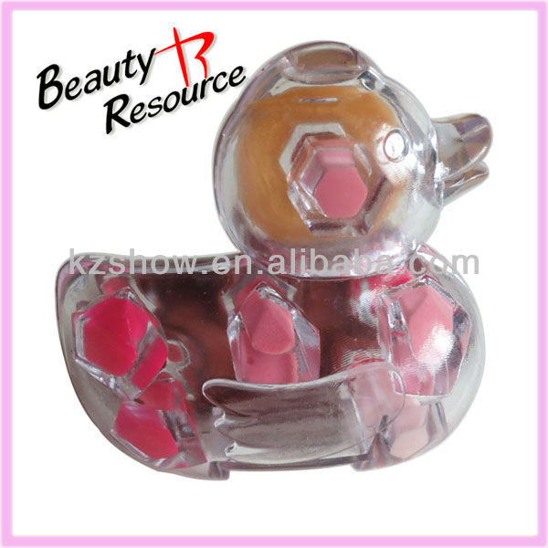 Hot sale cute lipgloss makeup set for kids