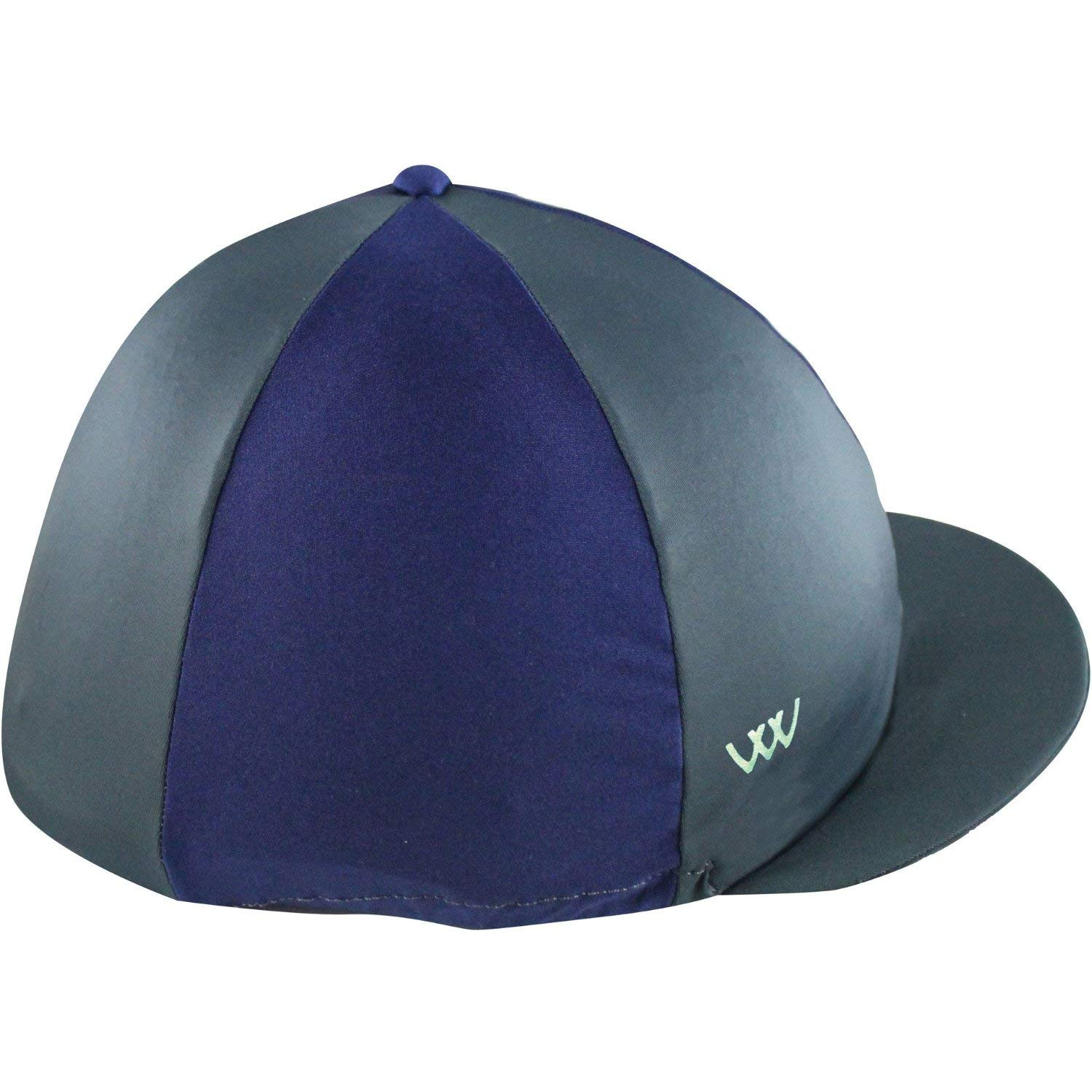 Get Quotations · WOOF WEAR Lycra Hat Cover One Size Grey Navy cf2bd7cafc45