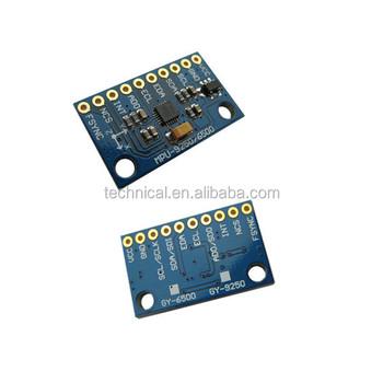 Spi/iic Mpu-9250 Magnetometer 9 Axis Attitude+gyro+accelerator+magnetometer  Sensor Module - Buy Magnetometer,Gyro Sensor,Mpu 9250 Product on