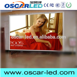 New design Oscarled p6 indoor mini led display full xx vedio P3.91 die-case for wholesales