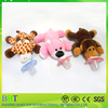 Soft cute animal infant plush detachable baby animal pacifier