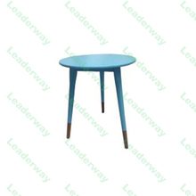 wholesale factory manufacturing white available round wooden legs modern design wood side