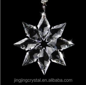 New Products Crystal Hanging Snowflake For Christmas