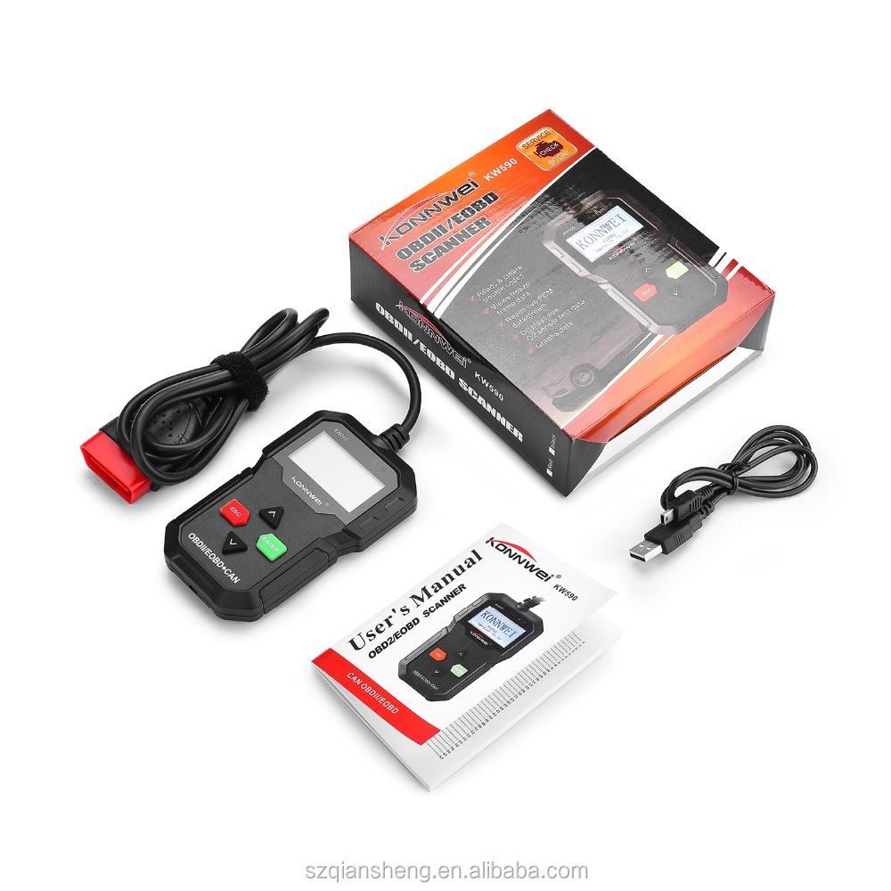 Hot Sale Auto Diagnostic Scanner OBD 2 OBD2 Auto scanner Support Multi-languages Full ODB2 Function Auto Diagnosis