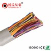 Multi pair high quality 100 pair underground jelly filled telephone cable