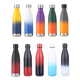 color changing 18 8 stainless steel cola vacuum flask double wall sport water bottle with custom logo
