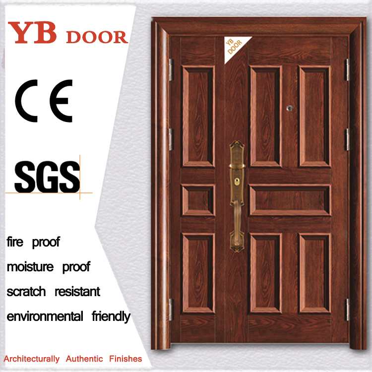 composite living room interior safety iron indoor security main gate doors designs YBSD-A805-1