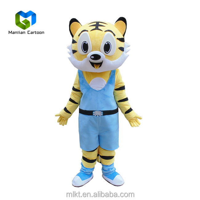 Factory direct sale customized customized daniel tiger mascot costume for children's party