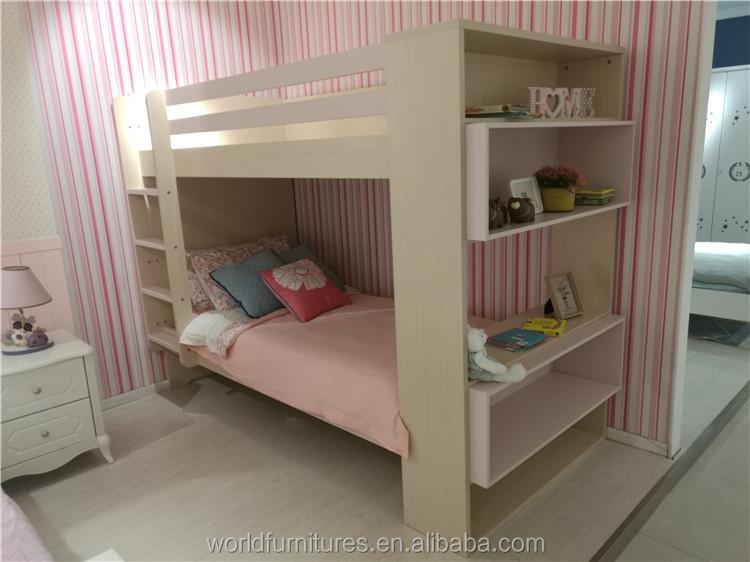 nios cama litera cama doble para dos chicas con buen corazn diseado