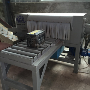 Fully automatic car used lead acid battery recycling machine / Lead particles production line