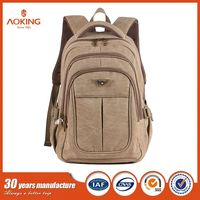 Hot Sale Quality Girls Boys vintage backpack canvas