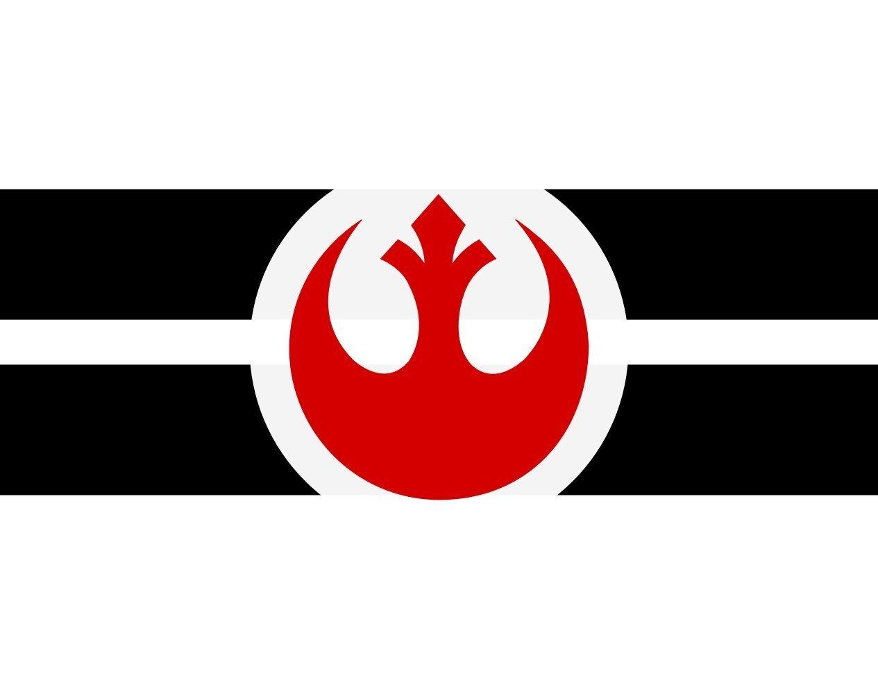 Table-Flag / Desk-Flag: Alliance to Restore the Republic a 15x25cm