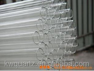 Manufacturers of quartz glass tube / tube deep processing / customized various specifications