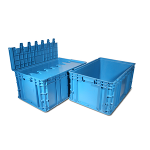 Durable 100% virgin pp plastic stacking containers