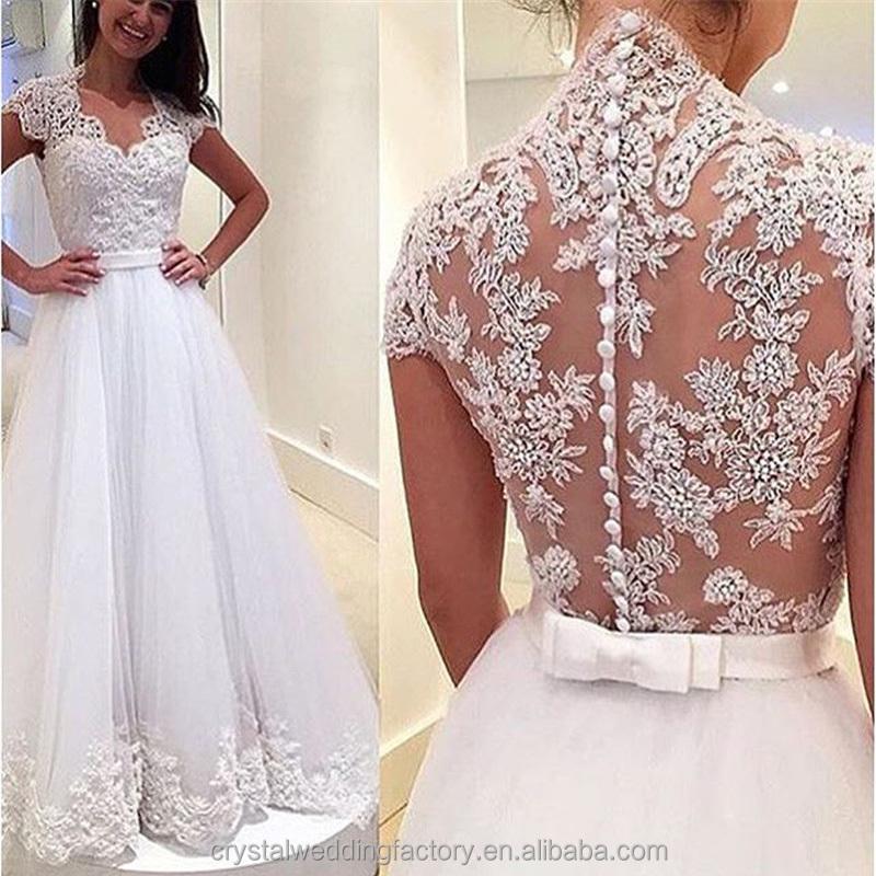 Venta al por mayor corsets para vestidos de novia con tul-Compre ...