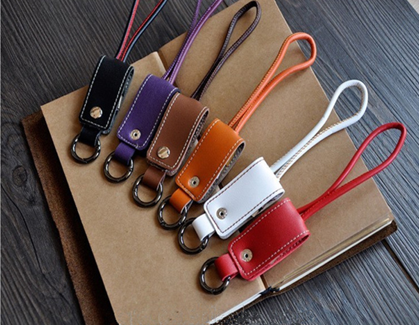 Fashion Portable PU Leather Keychain Micro Charger Data <strong>Cable</strong> For Samsung Usb <strong>Cable</strong>