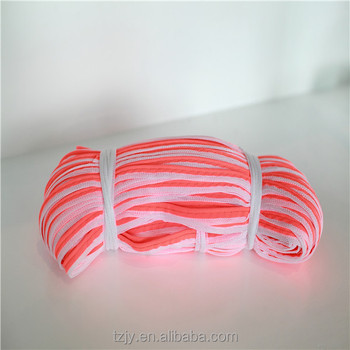 Best Selling in China High Visibility Pink Reflective Piping Ribbon Tape