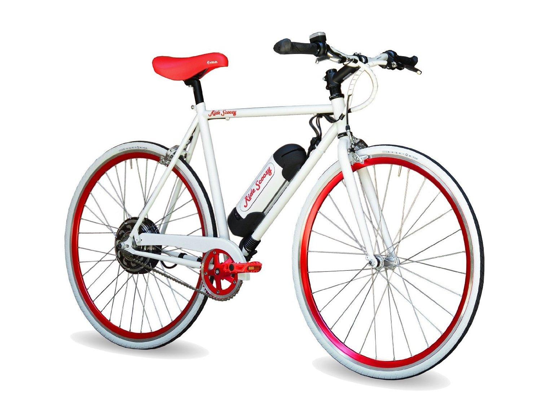 Ride Scoozy Electric Bike, Lightweight, 350 Watt, Li-Ion Battery, New Bicycle
