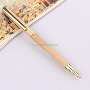 Top Quality Twist Action Ballpoint Turned Wood Pens