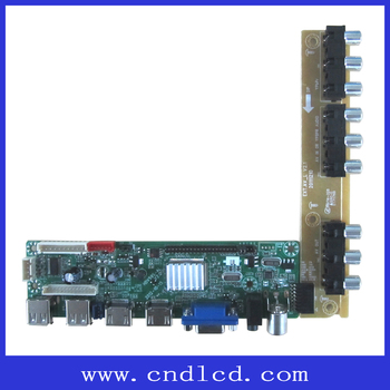 Full Hd Tv Motherboard /remote Control Board Oem A Grade Mstv59 - Buy Led  Tv Board Cheap Price Oem A Grade,Supporting Full Hd 1920*1080 Lcd And Led