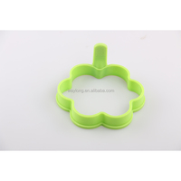 2018 hot sell silicone flower-shaped egg cooking ring pancake mold egg mold