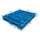 Standard size 4 way hdpe plastic pallet for stacking
