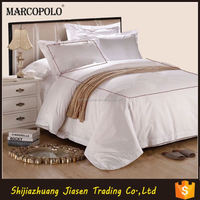 flat type hotel egyptian cotton bed linen sheets