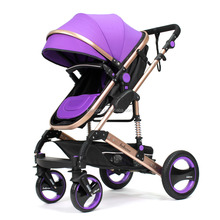 Belecoo China best quality high landscape baby stroller 3 1 with EN1888 certificate