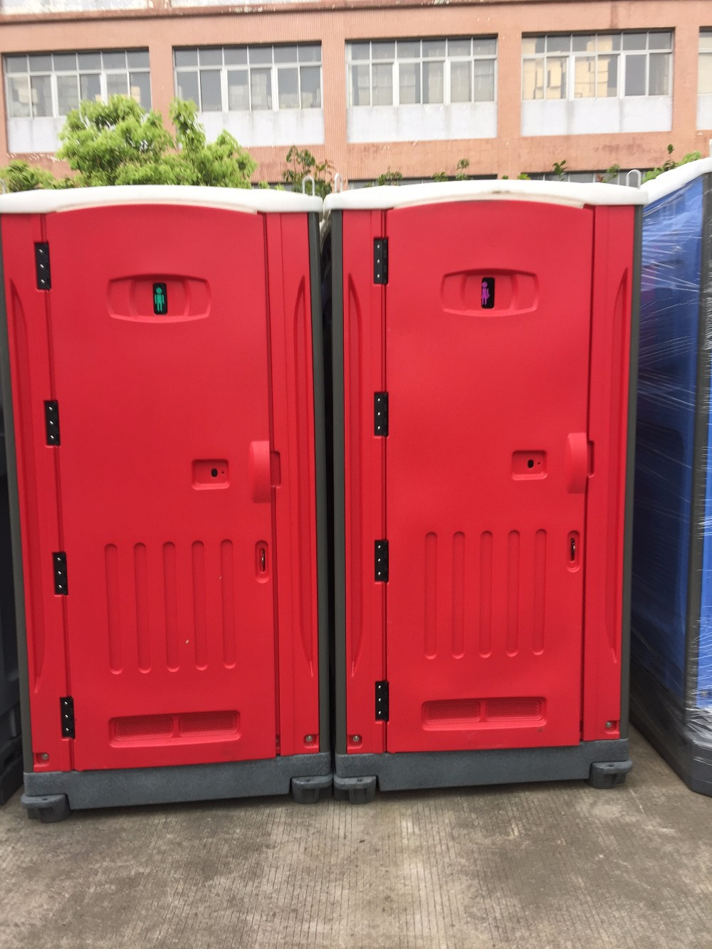HDPE portable toilet Waterproof Well-designed Portable Toilet Plastic portable toilet