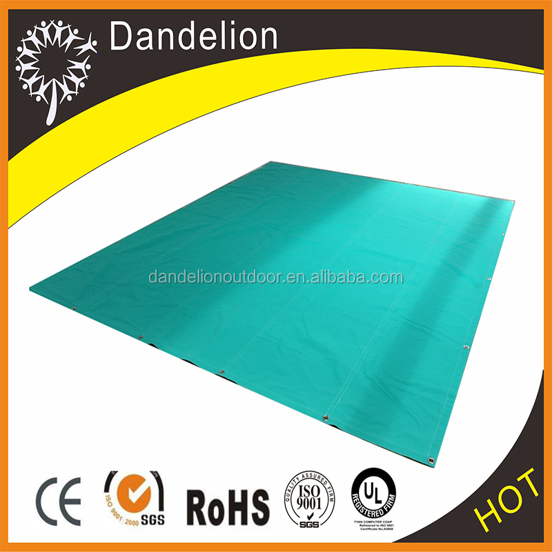 china colored 100% cotton sheet tarpaulin awning