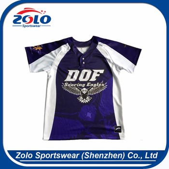 Make your own design sublimation late jersey baseball classic custom