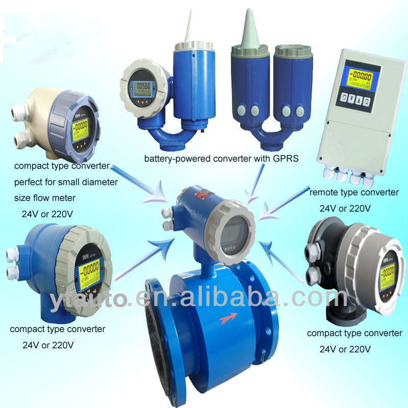 Good quality electromagnetic flow meter with competitive price