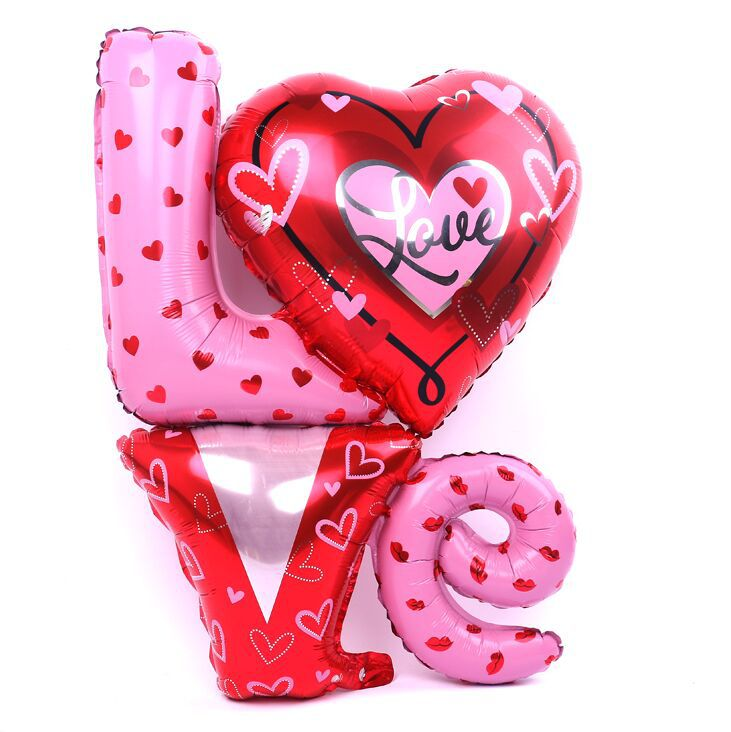 -Size-Love-Letter-Shaped-Foil-Balloons-Wedding-Decoration-Balloons ...