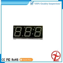 3 digit 7segment small number led display for show number