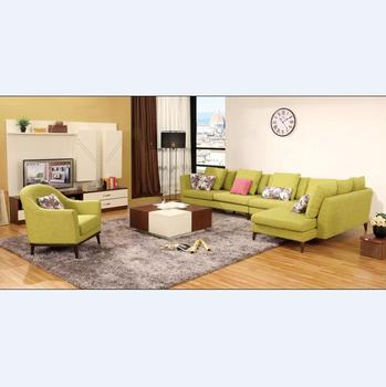 Latest Corner Sofa Living Room Furniture / Big Sofa Set Design - Buy ...