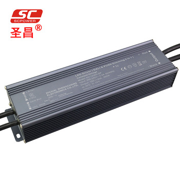 SC Grandly promotes 360W led dimmable driver KV-12360-DP 12V 24V DALI & Push-Dim 2 in 1 dimmable LED driver