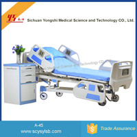 Cheap 5 Functions Electric Medical Hospital Folding Motor Bed for Sale