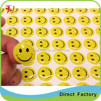 epoxy dome Clear Round Stickers,Diecut Label Sheet Blank,Custom Clear Vinyl  Stickers Printing