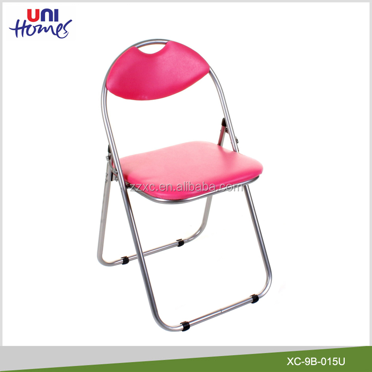 Cheap Vinyl Padded Metal Folding Chair