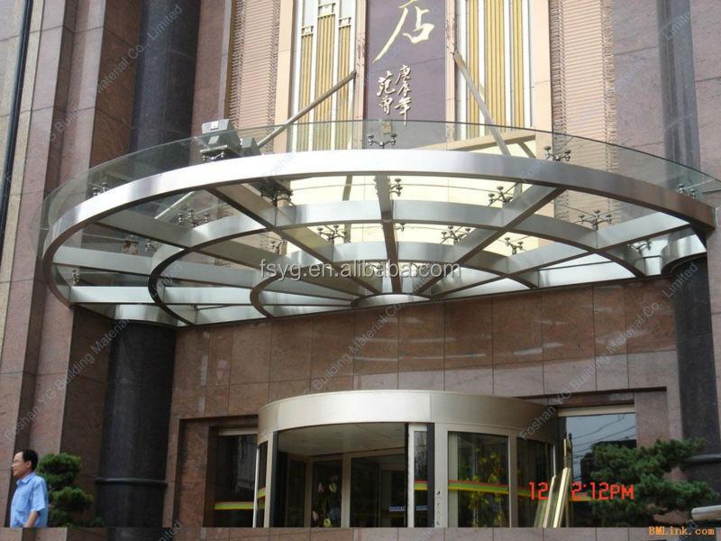 Hotel entrance glass roof design buy hotel entrance for Hotel entrance design