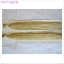 Magnetic sikly straight flat tip hair and i extension