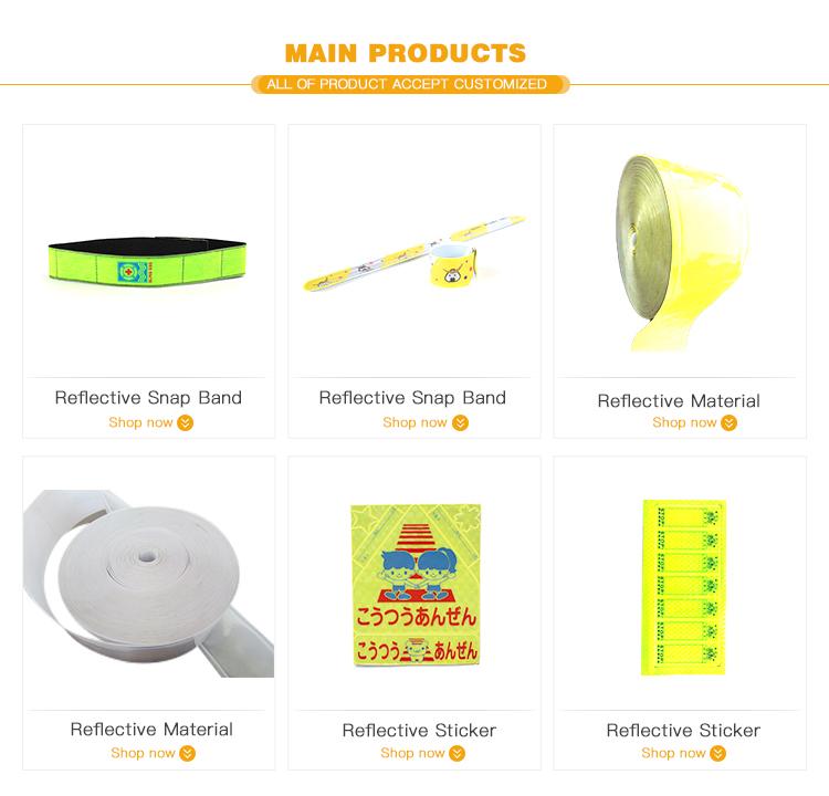 Nieuwe Ontwerp Hoge Kwaliteit Reflecterende Gele Ster Smiley gezicht Patroon Leuke Sticker, reflecterende sticker helm, reflecterende auto sticker