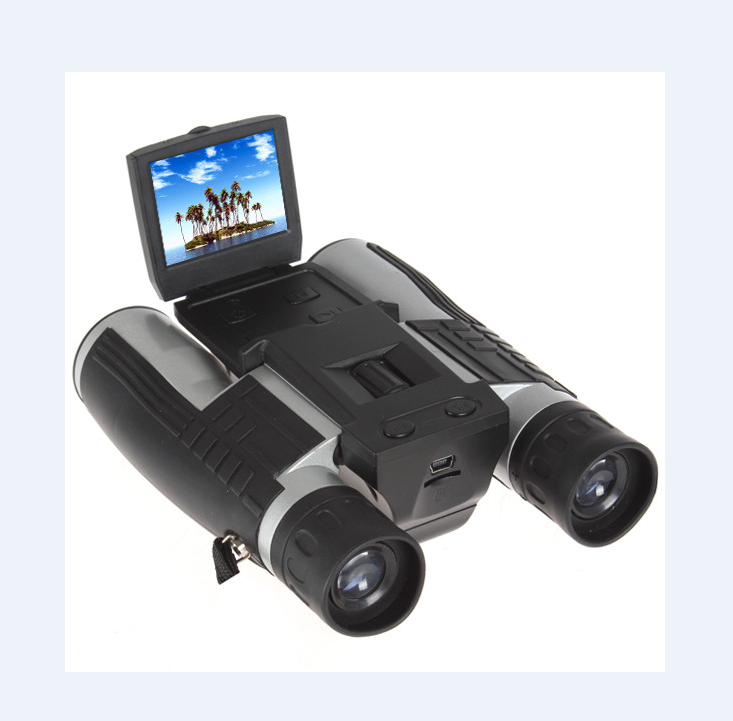Factory Price 12MP HD 1080P Telescope Camera Voice Recorder 96m@1000m Long Range Viewing Binocular Cameras Digital