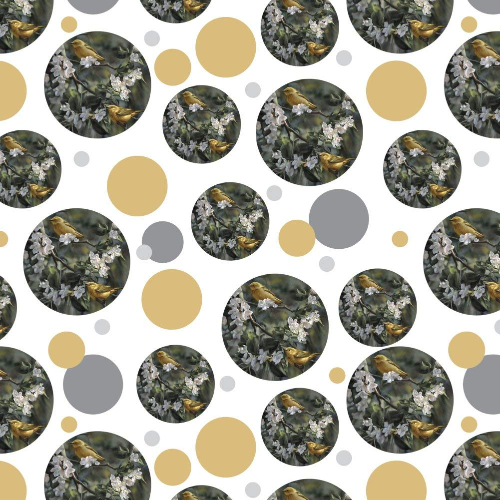 American Yellow Warblers Birds Premium Gift Wrap Wrapping Paper Roll