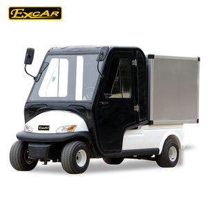 EXCAR mini electric car, electric car with cabin door, aluminum electric golf cart