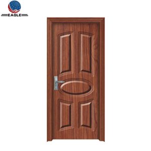 Ecology Interior Luxury PVC Door Design Wooden Door From China High Quality Manufacturer Suitable For Bathroom & Kitchen