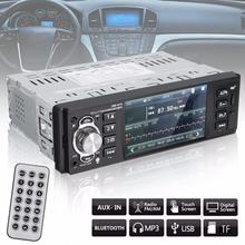 4.1 Inch TFT Touch Screen Bluetooth Car Audio AM/FM Receiver MP3/MP5 USB In-Dash Head Unit With Remote Control