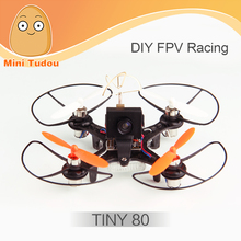 Minitudou Coretex RC Tiny 80 Mini DIY FPV Racing Drone Based On F3 EVO Brushed Flight Controller With Camera