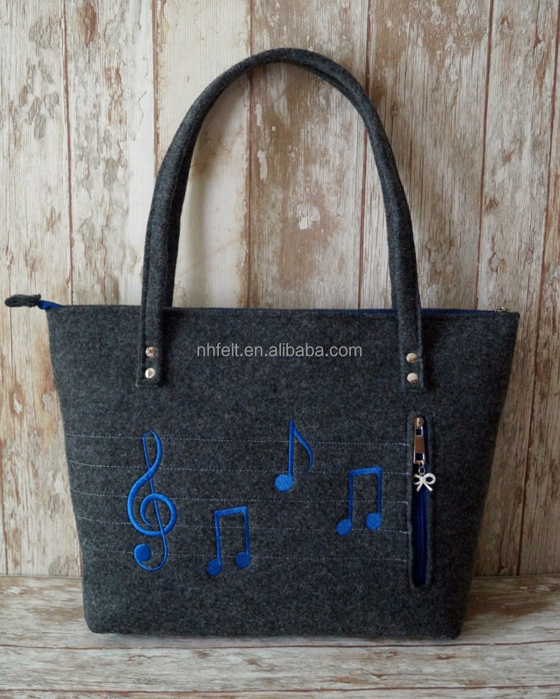 Fashion european large utility souvenir ladies tote bag