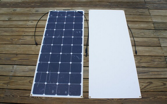 Bendable 120w 48v flexible solar panel for RVs charge